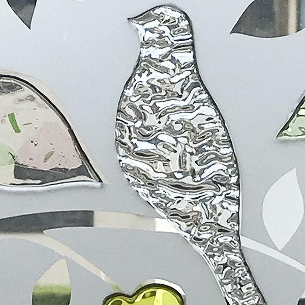 「森の静寂」装飾ガラスパネル