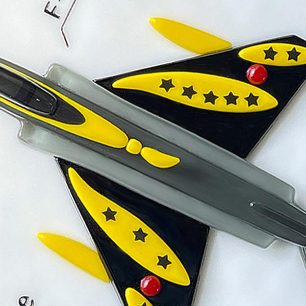 F4EJ改とF15J戦闘機のオーダーガラス表札